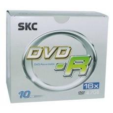 [SKC] DVD-R, 16배속, 4.7GB [쥬얼/1P-10매]
