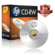 [HP] CD-RW, 12배속, 700MB [경질슬림/1P-10매]