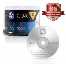 [HP] CD-R, 52배속, 700MB [케익/50매]
