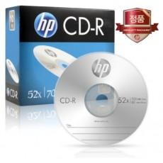 [HP] CD-R, 52배속, 700MB [경질슬림/1P-10매]
