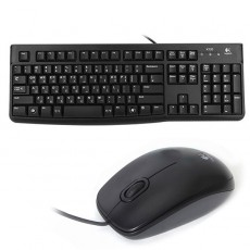 [로지텍] 유선 데스크탑 합본, 키보드 K120 NEW + 마우스 M90 [로지텍코리아정품] [블랙/키스킨포함] [키보드USB/마우스USB]
