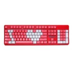 [RIZUM] 유선 기계식 키보드, RK201 크리스탈 키캡 축교환, 광축 [색상선택/USB]