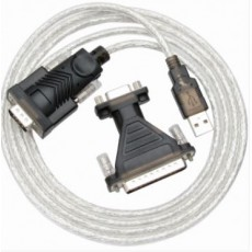 [NETmate] USB2.0 to RS232 변환케이블 1.8M (KW-825)